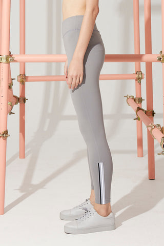 Sydney Stripe Legging in Grey