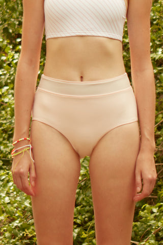 Tessa Reversible Swim Short in Pink
