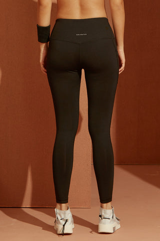 Trix Mesh Legging in Black
