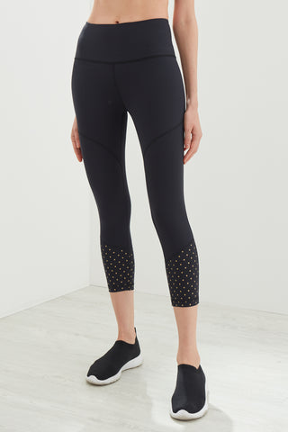 Twinkle Capri in Black