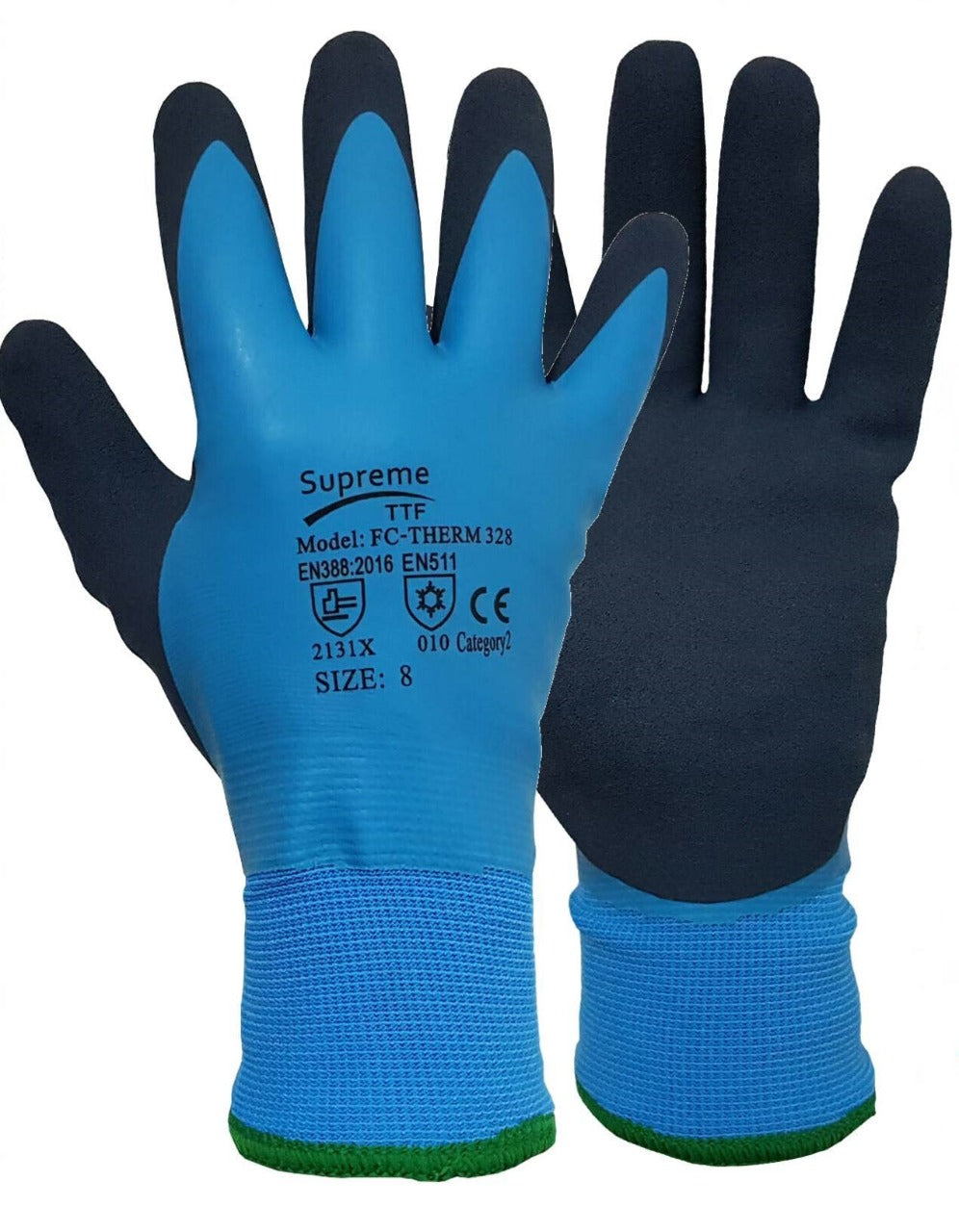 Thermal Insulated Winter Waterproof Gloves Outdoor Warm Thick Latex Work Glove