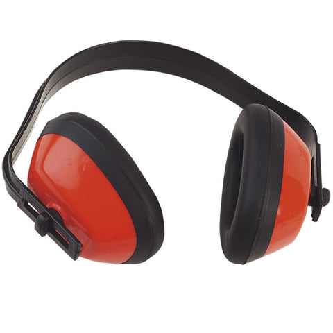 Red Ear Defender for Noise Protection