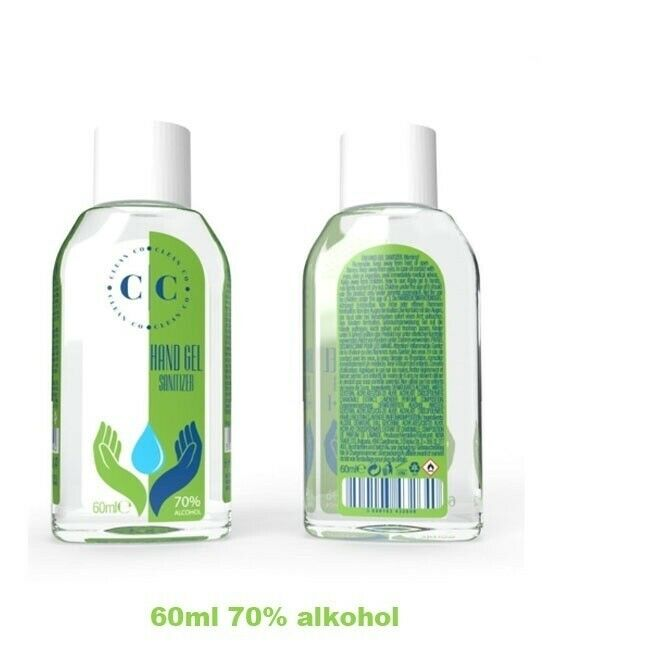 HAND SANITISER ANTI BACTERIAL KILLS 99.99% - 60 ML