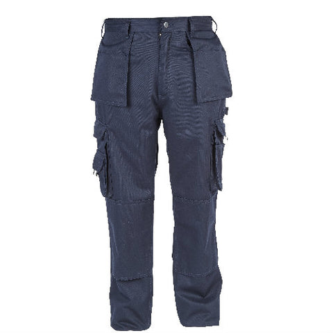 Proforce WB14NV 'Supremacy' Navy 330gm Poly-cotton heavy duty 'Easy Clean' trousers - W28-48 L31/33