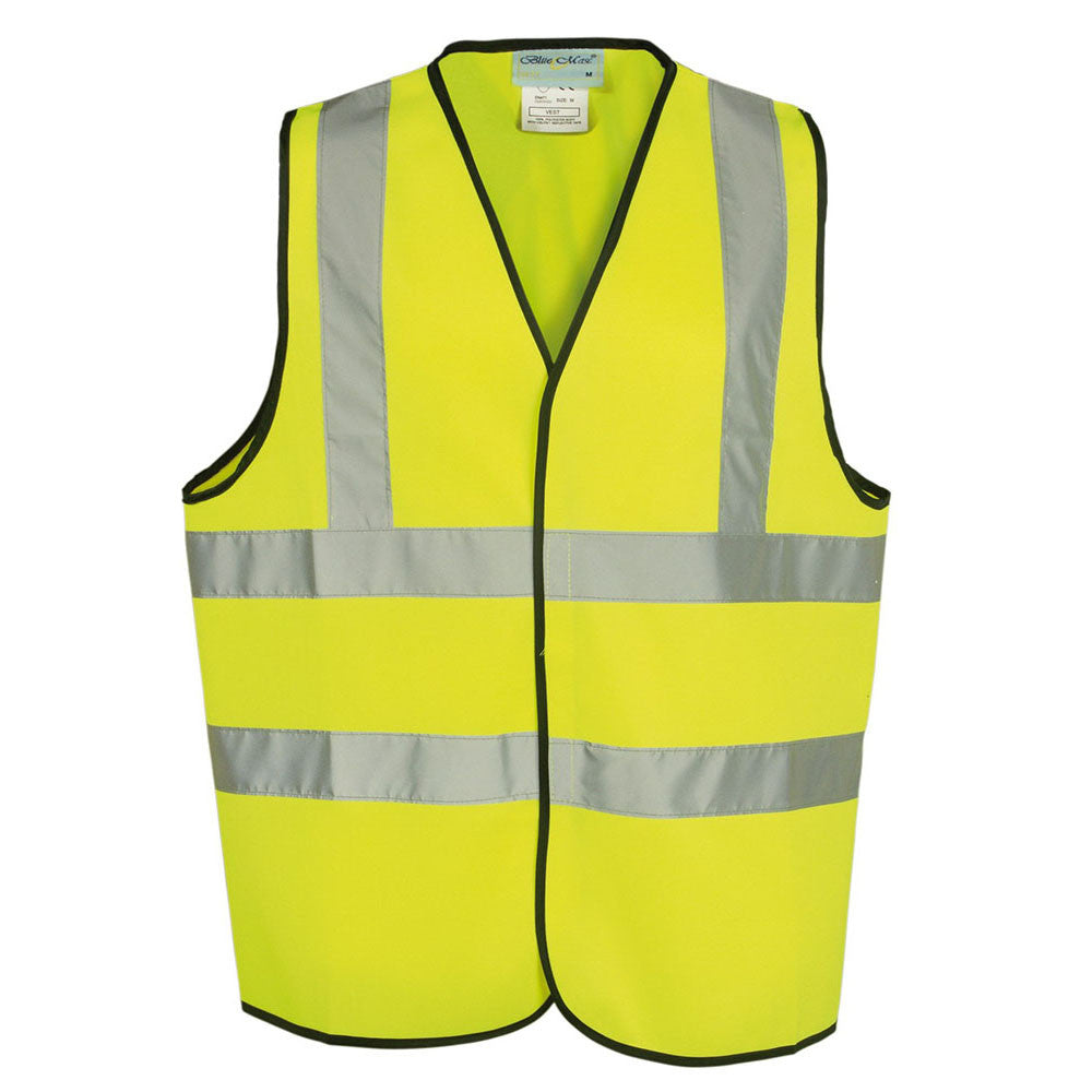 Yellow High Visibility 80 GSM knitted EN471 Certified Waistcoat