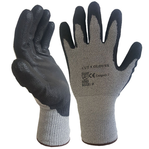 Economy Cut 5 Nylon PU Coated Cut Resistant Work Glove - RUFTUF