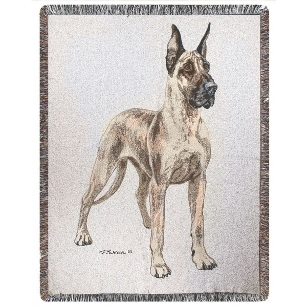 Great Dane Blanket Throw