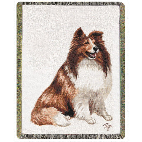 Shetland Sheepdog Blanket THrow