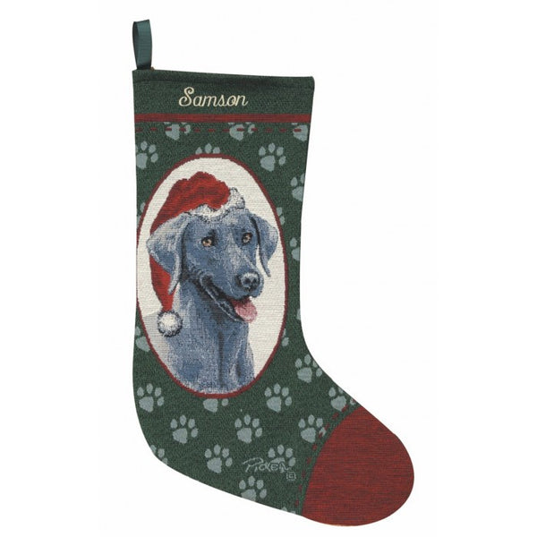 Weinmaraner Christmas Stocking