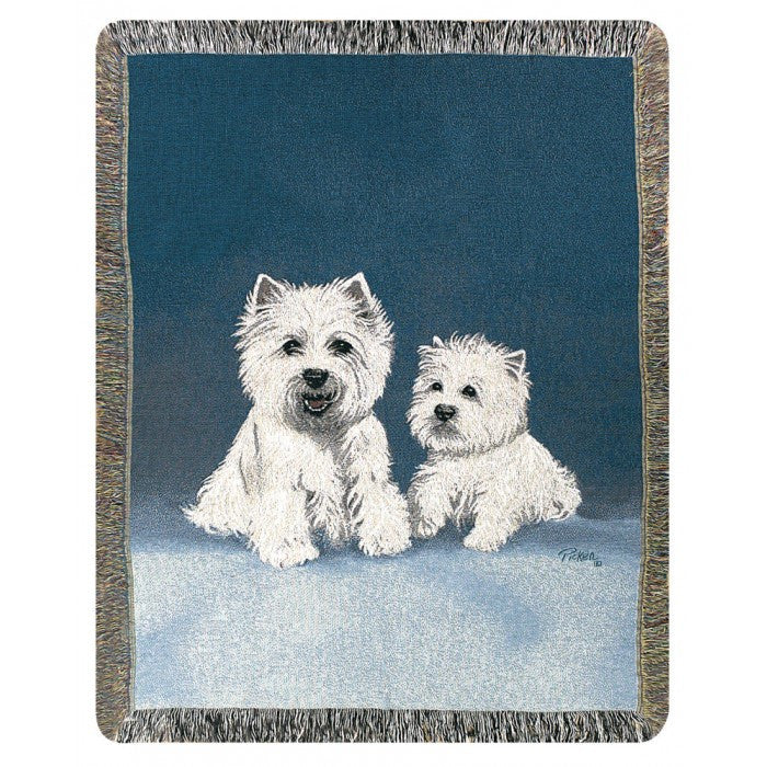 West Highland White Terrier Throw Blanket