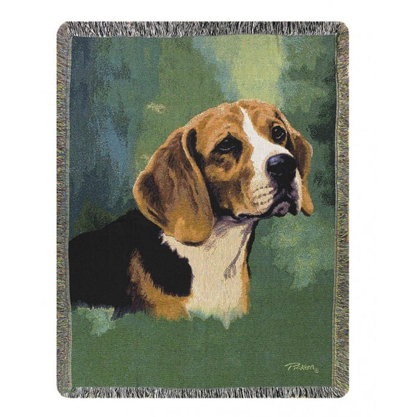 Beagle Throw Blanket