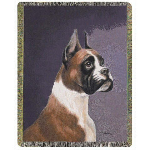 Boxer Throw Blanket