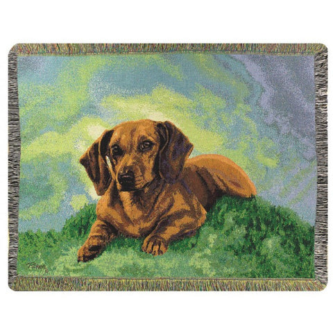 Dachshund Throw Blanket