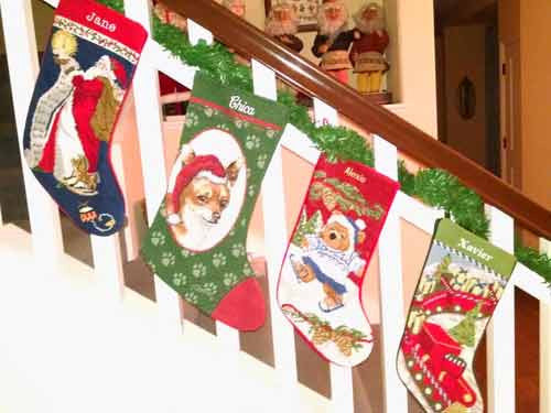 Chihuahua Personalized Christmas Stocking