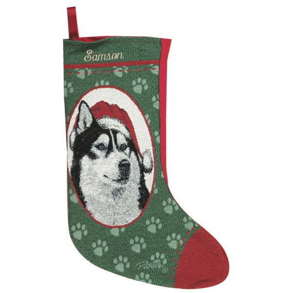 Husky Christmas Stocking