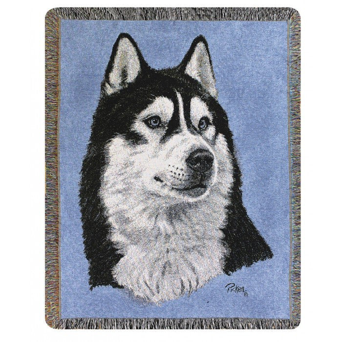 Husky Blanket Throw