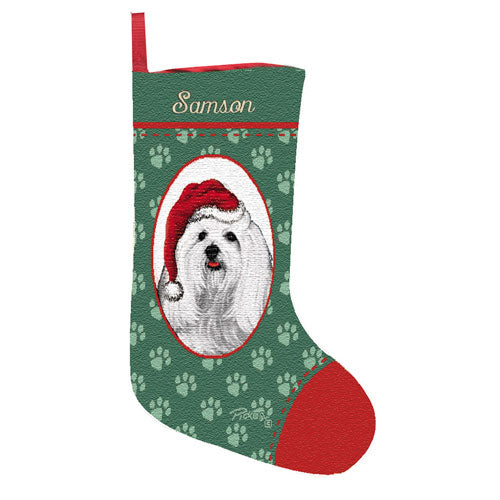 Maltese Stocking