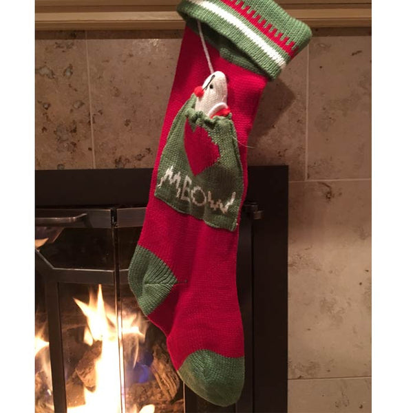 Meow Christmas Stocking