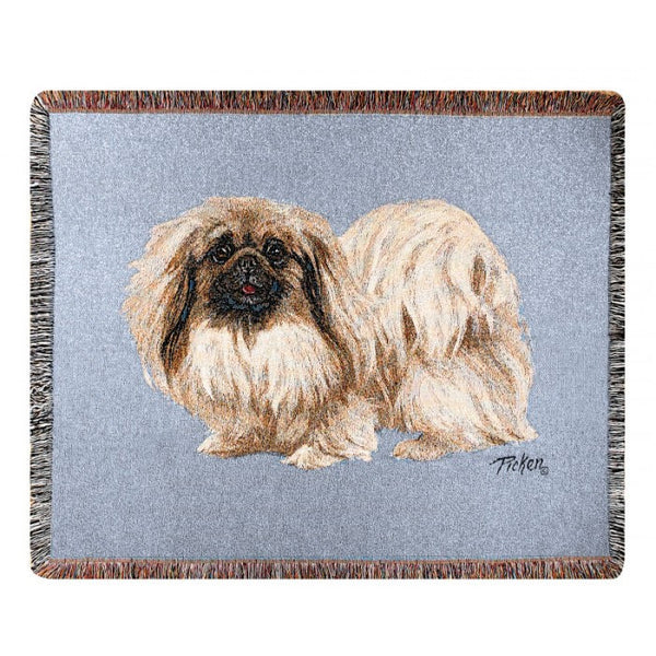 Pekingese Throw Blanket