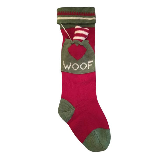 Woof Dog Stocking
