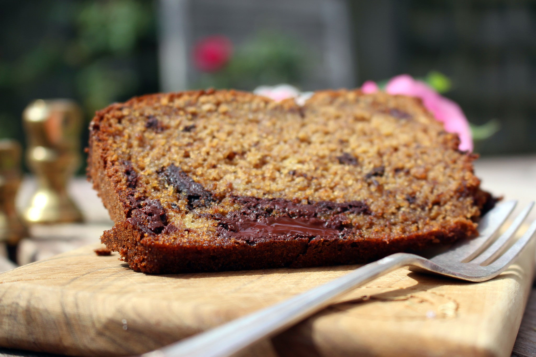 Chocolate chunk & banana cake recipe kit