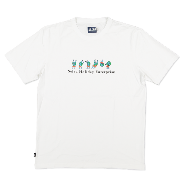 Selva Holiday Enterprise   t-shirt tshirt, 100% organic cotton Selva Holiday Enterprise is a streetwear resortwear brand from Algarve , Portugal  Free Shipping WORLDWIDE