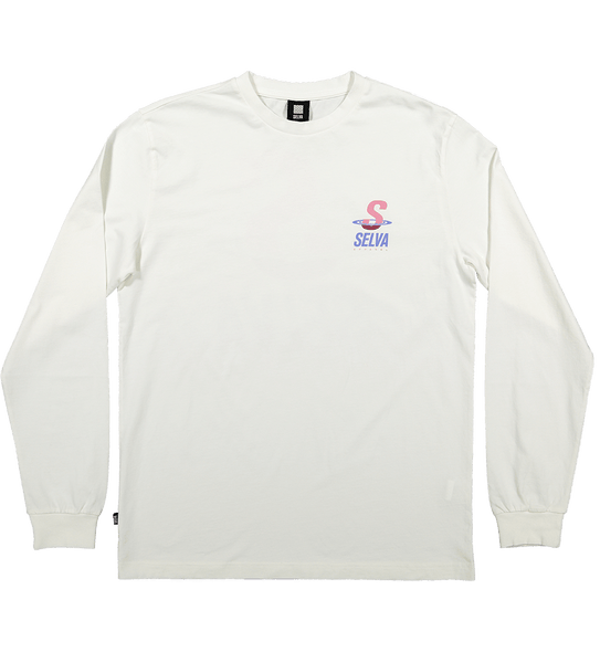 Low tide longsleeve t-shirt 100% Organic Cotton. Selva Apparel is a streetwear brand from Algarve , Portugal