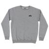sunset grey sweater 100% organic cotton Selva Holiday Enterprise is a streetwear resortwear brand from Algarve , Portugal  Free Shipping WORLDWIDE