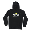 sunset black hoodie 100% organic cotton Selva Holiday Enterprise is a streetwear resortwear brand from Algarve , Portugal  Free Shipping WORLDWIDE