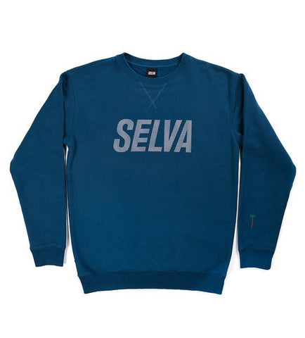 Oblique crewneck sweatshirt Selva Apparel is a clothing brand from Algarve , Portugal