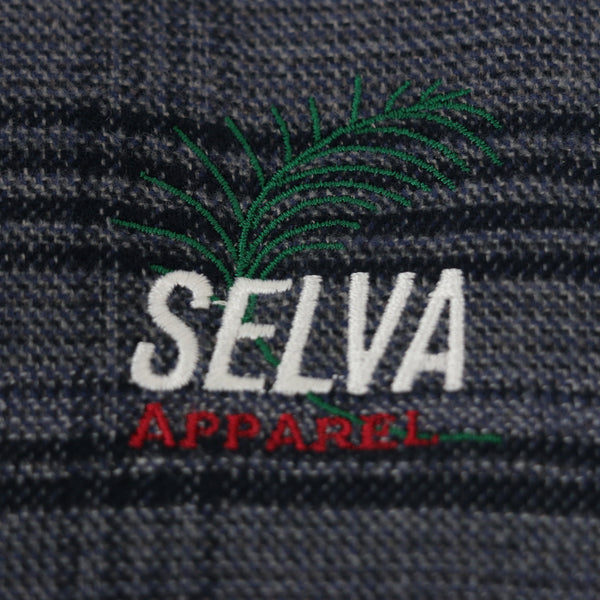 ria sol plaid jacket 100% organic cotton made in Portugal Selva Holiday Enterprise is a streetwear resortwear brand from Algarve , Portugal  Free Shipping WORLDWIDE
