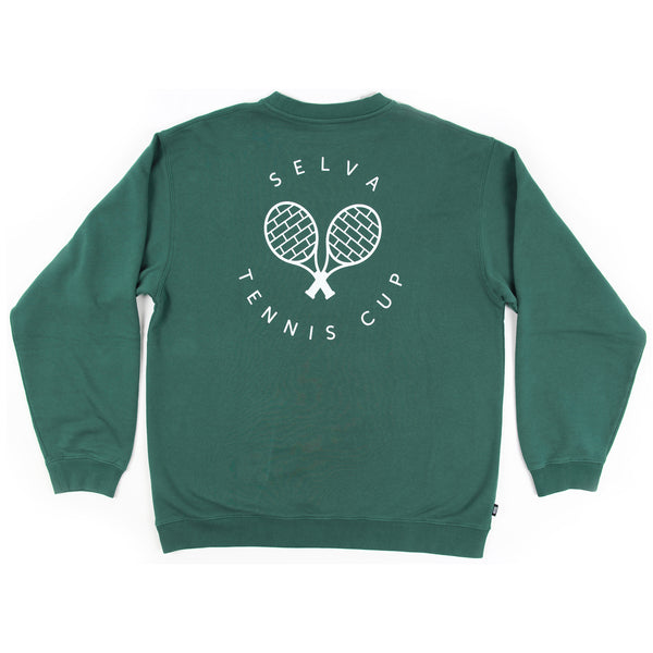 Selva Tennis cup crewneck Selva Apparel is a streetwear brand from Algarve , Portugal  Free Shipping WORLDWIDE