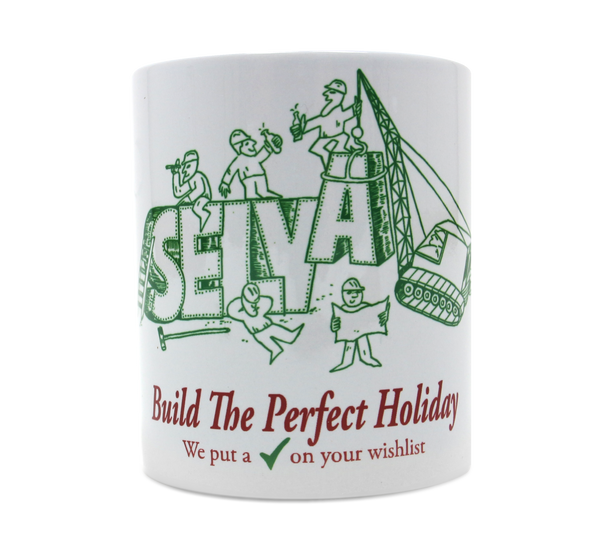 Perfect Holiday Mug. Selva Apparel is a streetwear brand from Algarve , Portugal