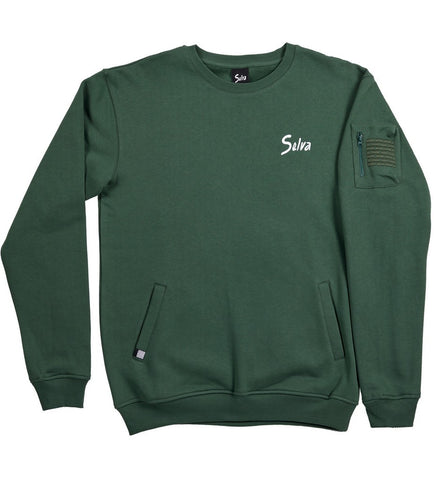 Script crewneck sweatshirt Selva Apparel is a clothing brand from Algarve , Portugal