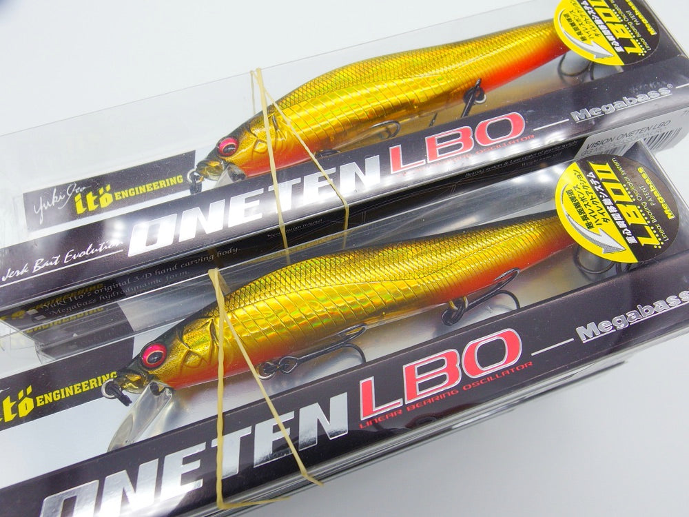 Megabass ONETEN LBO and ONETEN MAX LBO just stocked in UK!!