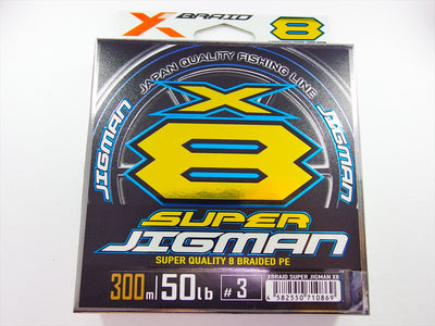 X-BRAID SUPER JIGMAN X8 PE 300m