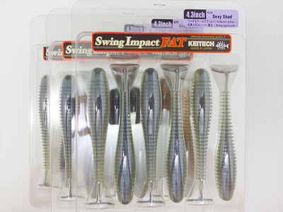 3pack x SWING IMPACT FAT 4.3""