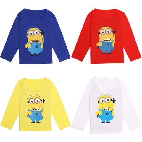 Cute Minions Long sleeve T-shirt