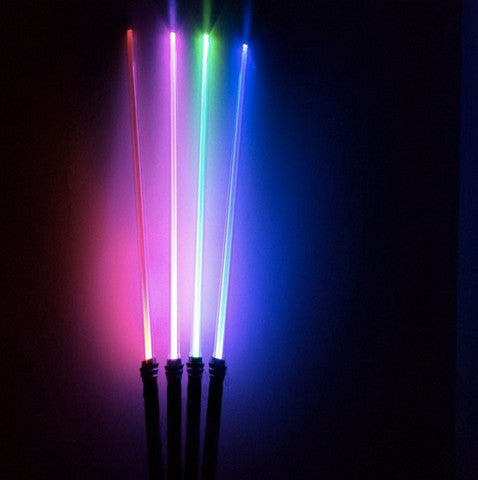 1 FX Star Wars LED Light Saber With Sound Effects & Changes Different Colors When Getting Struck By Dueling