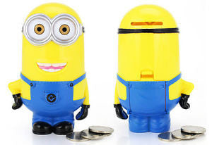 "3D Minions Cartoon ""Piggy Bank Money Box"""