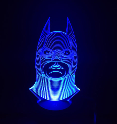 3D Batman LED Lamp