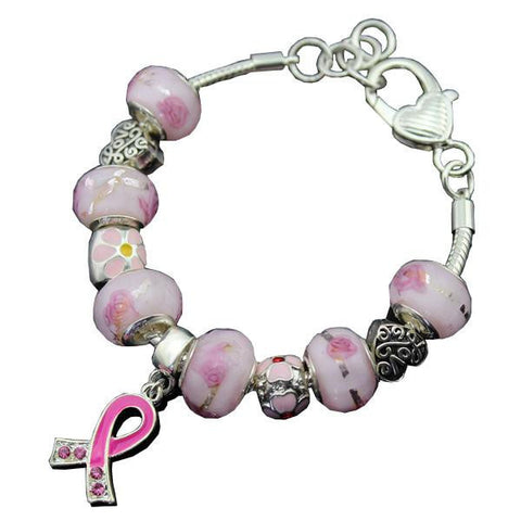 """Care For Breast Cancer"" Bracelet"