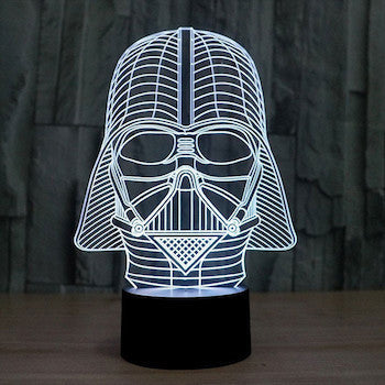 3D Star Wars LED Lamps