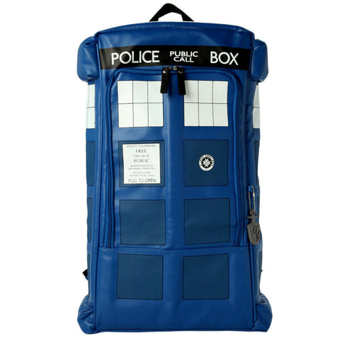 Doctor Who Police Box Tardis Backpack Shoulder Bag