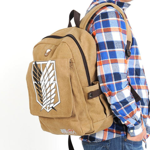 Shingeki no Kyojin Attack on Titan Backpack