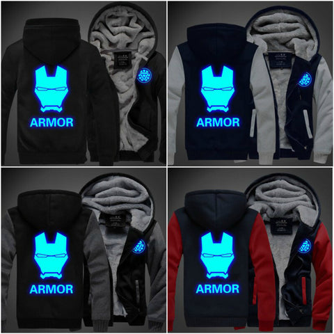 Limited Edition Iron Man Luminous Hoodies