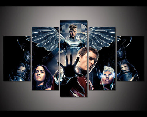 X-Men Apocalypse Limted Edition 5 Piece Canvas