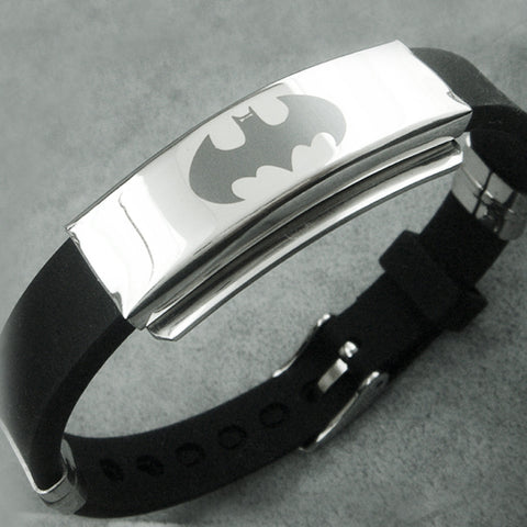 Batman Steel Bracelet