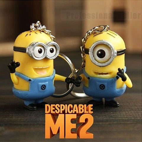 Despicable Me Minion Key Ring