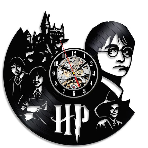 Harry Potter 3D Vinyl Record Wall Clocks